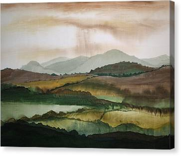 Scottish Hills Canvas Print