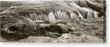 Canvas Print featuring the photograph Scottish Water by Juergen Klust
