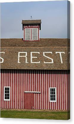 Scouts Rest Ranch, North Platte Canvas Print by Panoramic Images