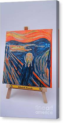 Scream Canvas Print