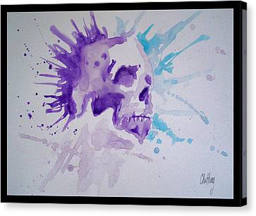 Scream Canvas Print by Ong Chii Huey