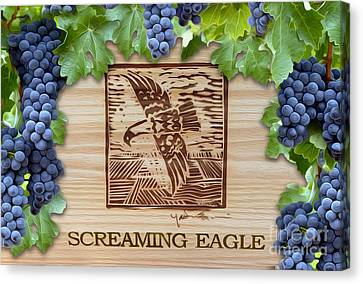 Cellar Canvas Print - Screaming Eagle by Jon Neidert