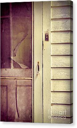Screen Door Canvas Print by Jill Battaglia
