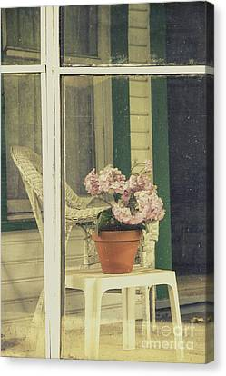 Screened Porch Canvas Print by Margie Hurwich