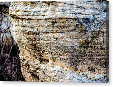 Cost Line Canvas Print - Scribbles by Jon Burch Photography