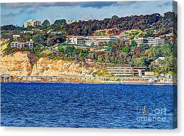 Scripps Institute Of Oceanography Canvas Print