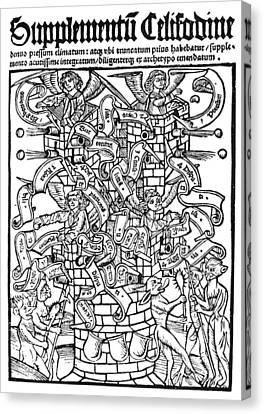 Scripturae Thesaurus, 1510 Canvas Print