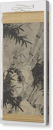Scroll Painting, Zhengxing Nickname Wuzhai Canvas Print by Litz Collection