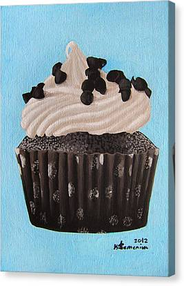 Scrumptious Canvas Print by Kayleigh Semeniuk