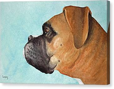 Scuba Canvas Print by Jeff Lucas