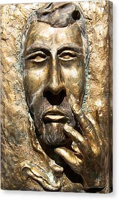 Sculpting  Van Gogh Canvas Print by Azul Fam