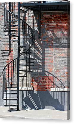 Sculptural Architecture 3 Canvas Print
