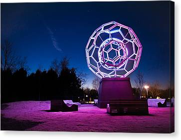 Sculptures Of Light - Crystal Bridges Art Museum Canvas Print