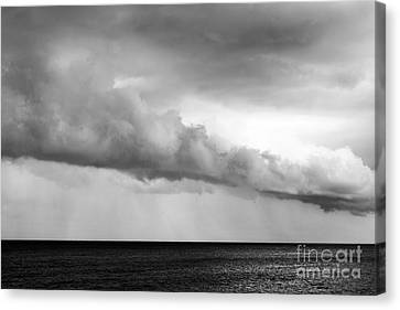 Sea And Clouds Canvas Print by Yuri Santin