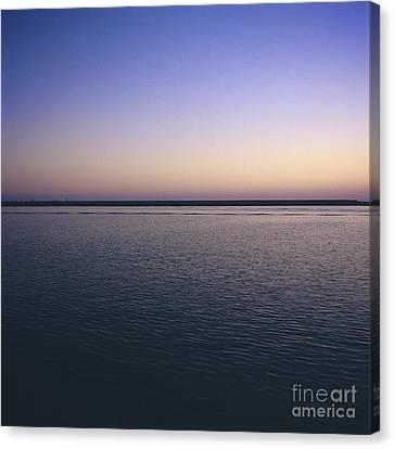 Sea Canvas Print by Bernard Jaubert