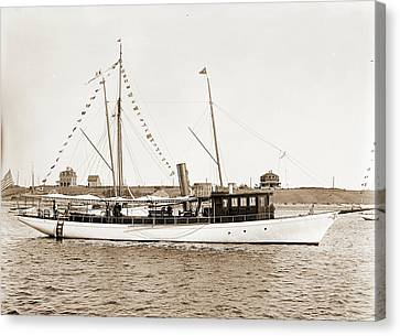 Sea Bird, Sea Bird Steam Yacht, Steam Yachts Canvas Print