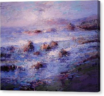 Sea Breeze Canvas Print by R W Goetting