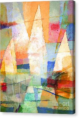 Sea Colors Canvas Print by Lutz Baar