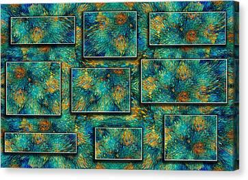 Sea Coral Canvas Print by Betsy Knapp