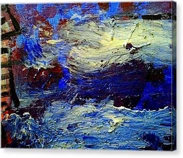 Sea Desaster Canvas Print