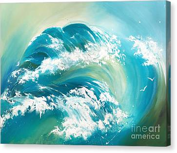Sea Dreams Canvas Print by Michelle Wiarda