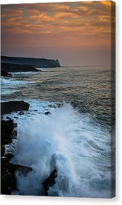 Autumn Sea Canvas Print