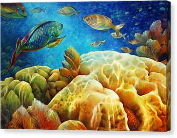 Pennekamp Canvas Print - Sea Escape I -27x40 by Nancy Tilles