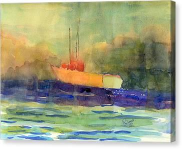 Sea Farer Canvas Print by Marsden Burnell