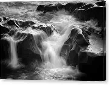 Sea Foam Falls Canvas Print by Joseph Smith