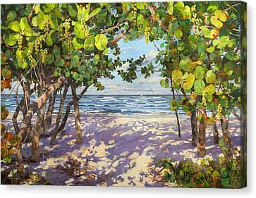 Sea Grape Delight Canvas Print