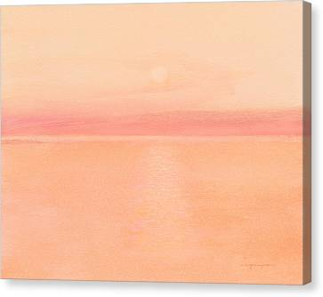 Sea Horizon Canvas Print