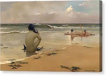 Sea Idyll Canvas Print