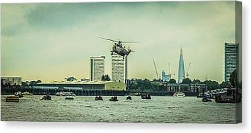 Canvas Print - Sea King Helicopter by Dawn OConnor