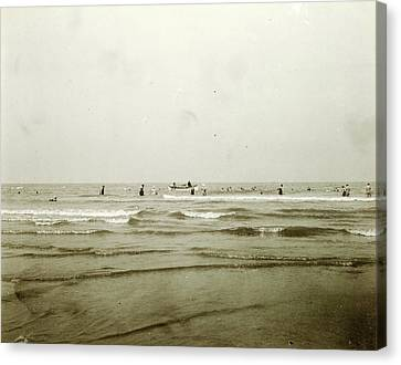 Sea North Sea, The Netherlands Or Germany Canvas Print