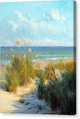 Oats Canvas Print - Sea Oats by Armand Cabrera