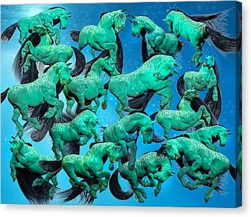 Sea Of Chaos Canvas Print