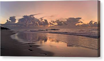 Topsail Island Canvas Print - Sea Of Dreams by Betsy Knapp