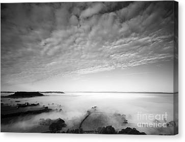 Sea Of Fog Canvas Print by Anne Gilbert