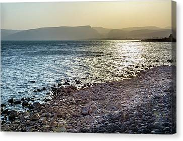 Sea Of Galilee Capernaum From Saint Canvas Print