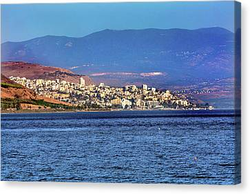 Sea Of Galilee Israel Tiberias Canvas Print