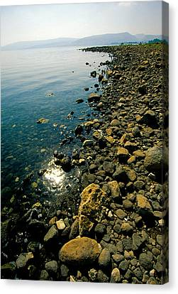 Sea Of Galilee Shore Canvas Print