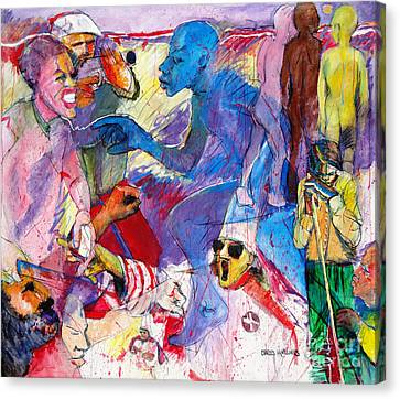Sea Of Hate Canvas Print