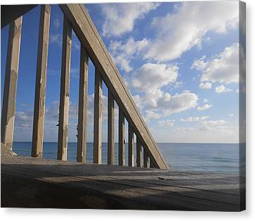 Sea Perspective Canvas Print by Sheila Silverstein