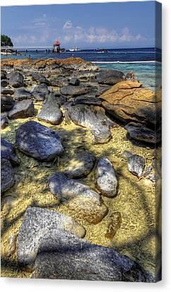 Redang Canvas Print - Sea Rocks by Mario Legaspi