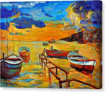Sea Scenery Canvas Print by Ivailo Nikolov