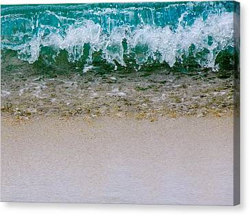Sea Shore Colors Canvas Print