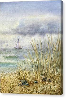 Sea Shore Canvas Print by Irina Sztukowski