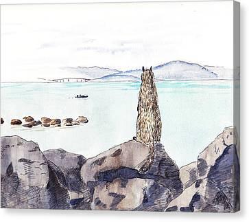 Sea Squirrel Canvas Print