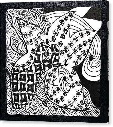 Sea Star Canvas Print by Beverley Harper Tinsley