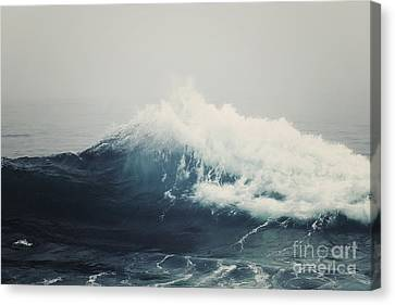 Sea Storm  Canvas Print by Bree Madden